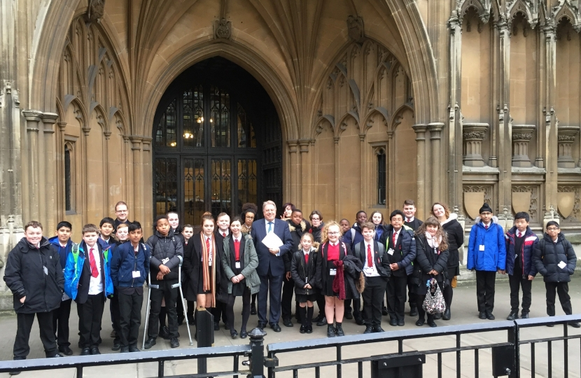 Pupils from Welling School visit Parliament