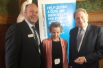 Rt Hon David Evennett MP at Parkinson's UK event in Parliament