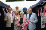 Cllr. Gareth Bacon AM, Therese Oliver, Matthew Scott, Maureen King, Amandeep Bhogal and David Evennett MP.