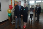 David Evennett MP pictured with the Head Teacher, Mrs Colette Doran-Hannon.